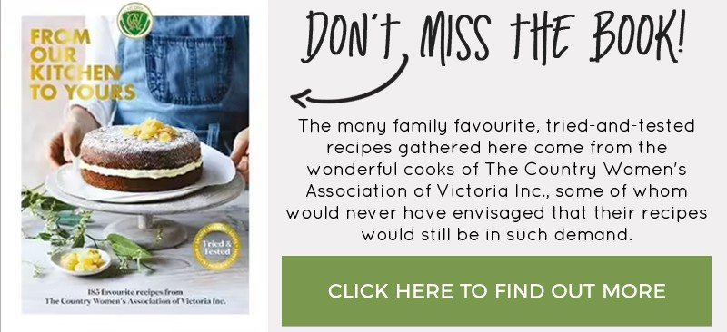 Don't miss the CWA cookbook From Our Kitchen to Yours