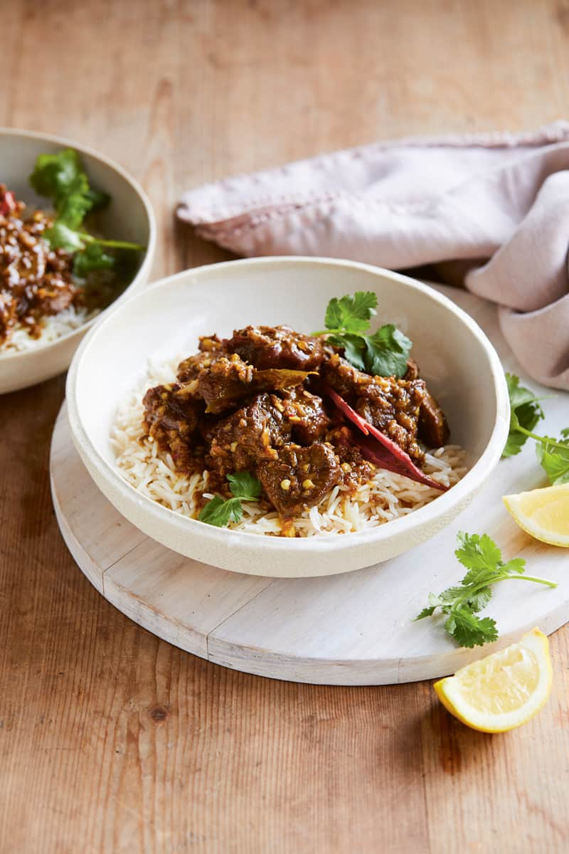 Marie's lamb curry is a must-try for dinner