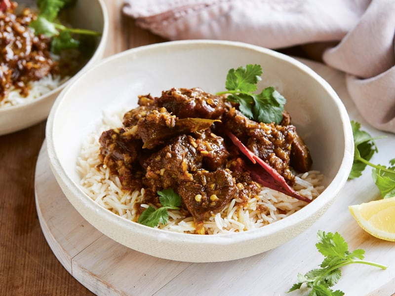 Marie's lamb curry is perfect for family dinner