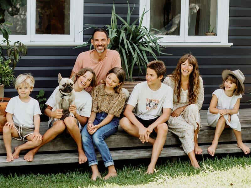 Courtney Adamo - Family in Byron Bay