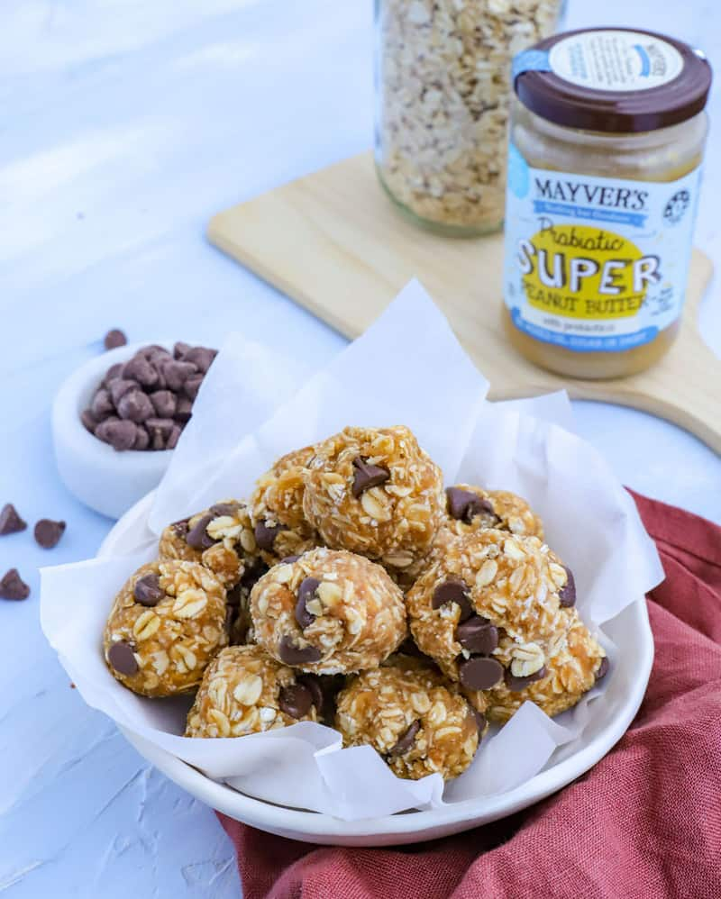 Easy and nutritious homemade protein balls recipe