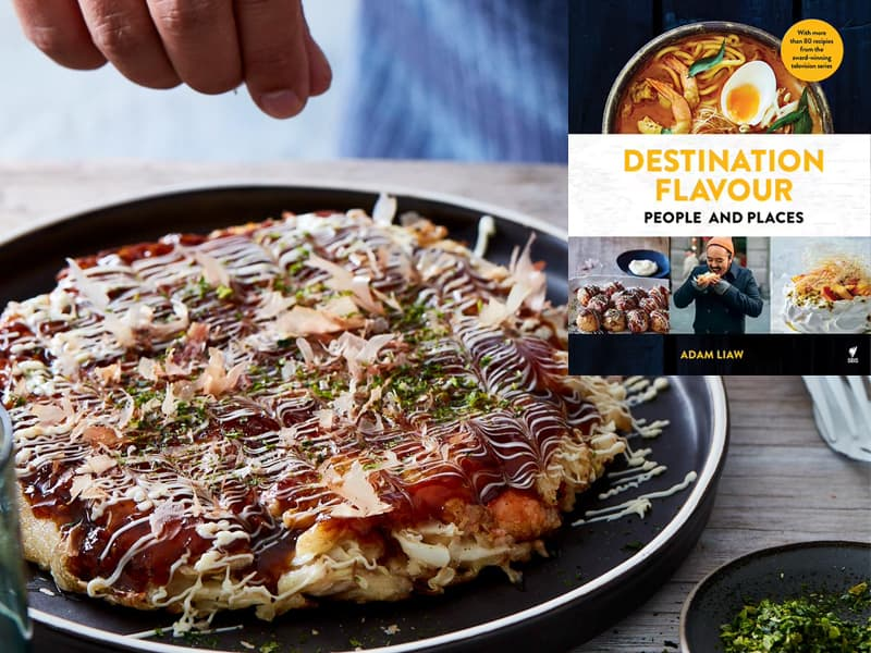 Adam Liaw's Destination Flavour - one of my favourite family cookbooks