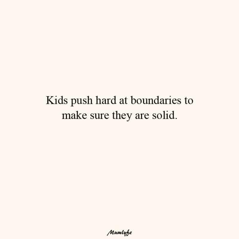 Consistent parent - boundaries