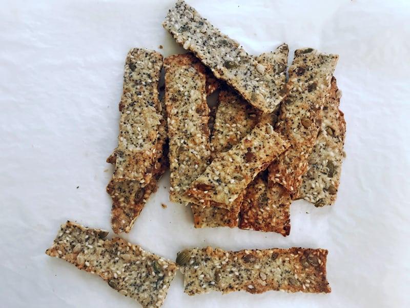 Easy homemade crackers to make