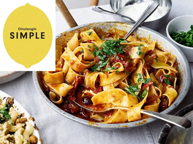 Ottolenghi Simple is on our favourite family cookbooks list