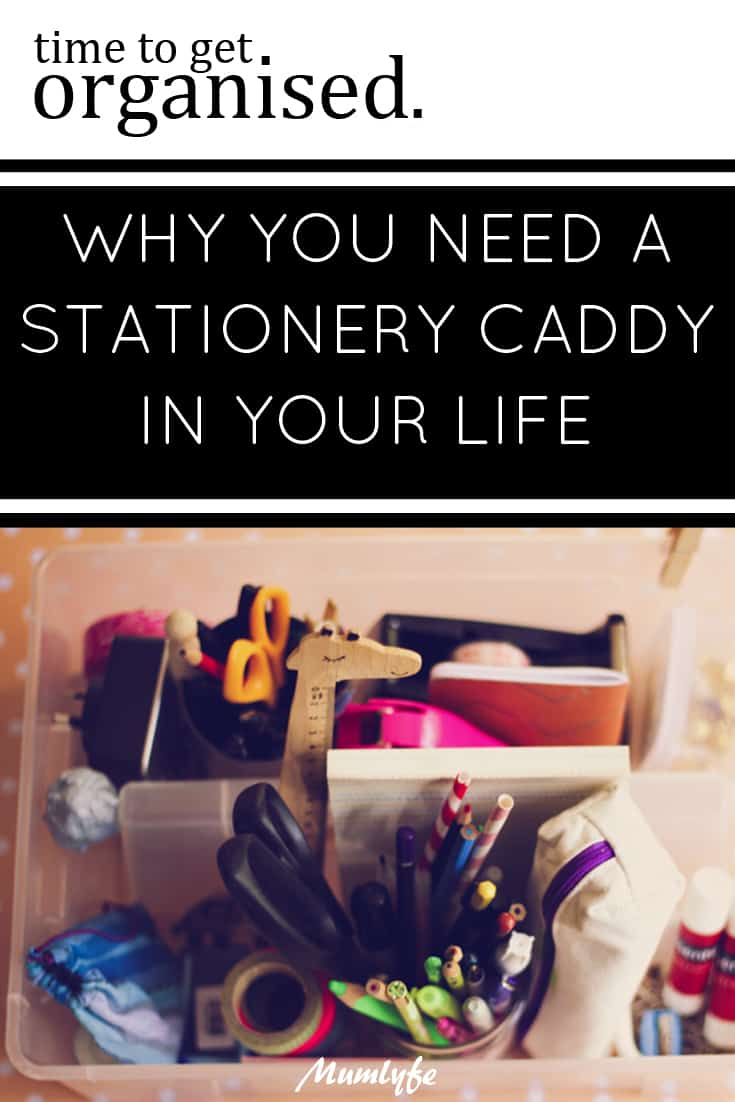 Why you need a stationery caddy in your life