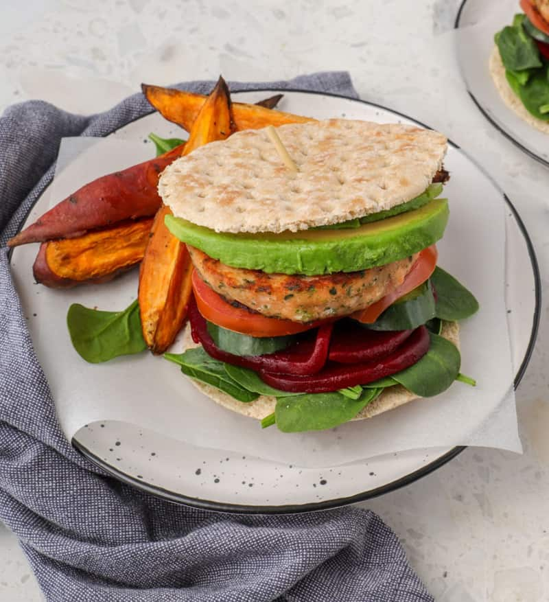 Low carb salmon burger recipe is super easy